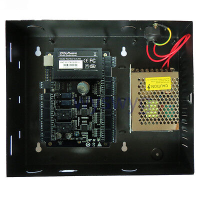 AU216.16 • Buy ZKTeco C3-200 2 Door Professional ID IC Board Access Controller With Software