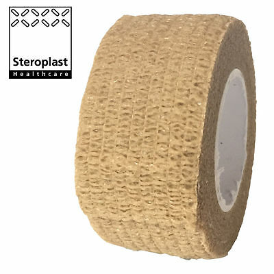 Coban Cohesive Sports Self Adhesive Athletic Support Bandage Strap Tape 2.5cm • 4.89£
