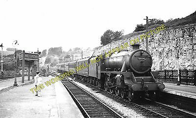 Miller's Dale Railway Station Photo. Peak Forest - Monsal Dale. Chinley Line (1) • 3.50£