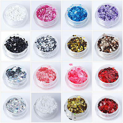 Chunky Cosmetic Circle Shapes Glitter-Face Eye Body Dance Festival Tattoo Nail • 1.75£
