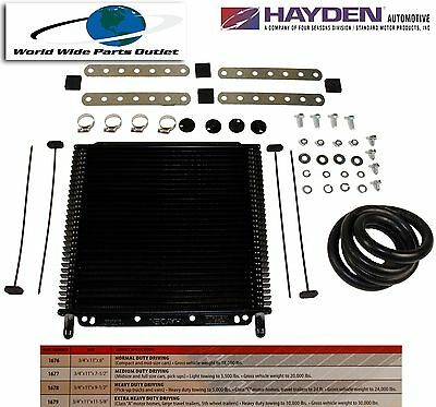 $62 • Buy Automatic Transmission Oil Cooler Hayden 679/OC-1679  Plate And Fin Type