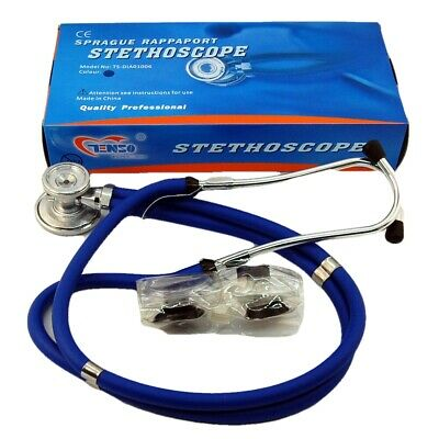 Doctors Sprague Rappaport Stethoscope For Cardiology + Respiratory BLUE • 9.90£