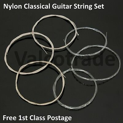 $ CDN6.89 • Buy Complete Set Of 6 Nylon Strings For Classical Guitar Full Size 4/4 And 3/4 Size