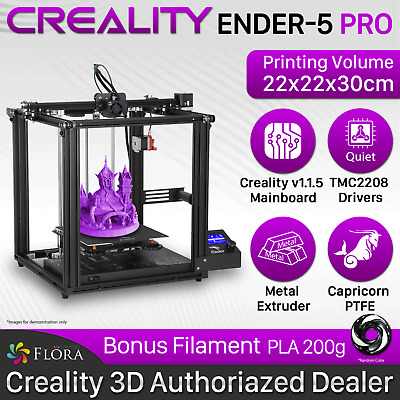AU599.95 • Buy Creality 3D Printer ENDER-5 Pro ENDER 5 DIY Kit Printing Filament PLA ABS PETG.