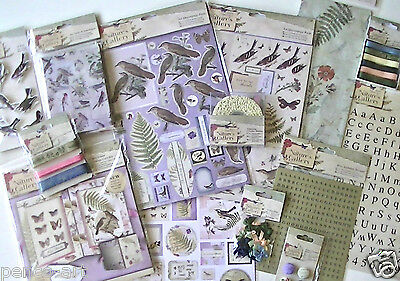 £2.25 • Buy Papermania Nature's Gallery Embellishments Stickers Notelets Buttons Ribbon Bows