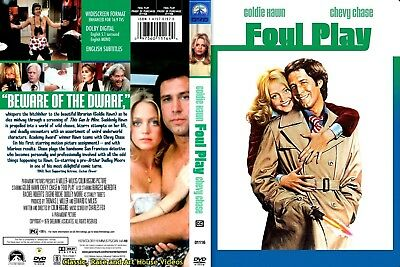 Foul Play ~ DVD ~ Goldie Hawn, Chevy Chase (1978) PHE • 9.20£