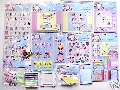 £2.99 • Buy Papermania BELLISSIMA Embellishments Stickers Notelets Buttons Ribbon Bow Charms