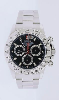 $ CDN24156.99 • Buy Rolex Daytona Cosmograph 116520 40mm Black Dial Stainless Steel Mens Watch