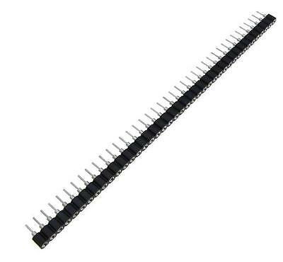 $1.98 • Buy 10Pcs Single Row 40Pin 2.54mm Round Female Pin Header Plated Machined Z