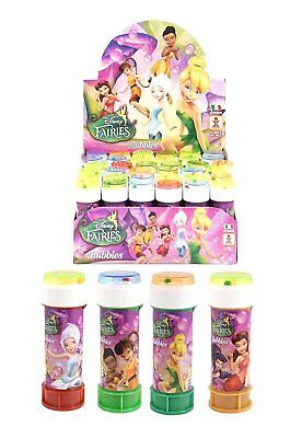 £7.99 • Buy Tinkerbell Bubbles, Bubble Tub With Maze, Party Bag Fillers, Multiples Of 6