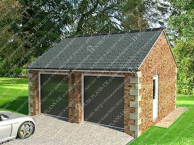 Garage Plans, House Plans, Cad Images, Extensions • 29.99£