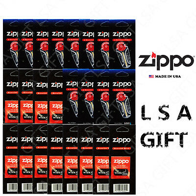 $10.95 • Buy New Zippo Lighters Replacement 24 Value Pack (72 Flints And 12 Wicks)
