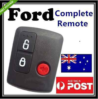 AU10.99 • Buy Ford 3 Button Keyless Entry Remote Falcon BA BF Ute Territory XR6 XR8 FPV