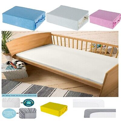 £5.99 • Buy Cot Bed 100% Soft Cotton Jersey Fitted Sheet Toddler Bed Size 140cm X 70cm, NEW
