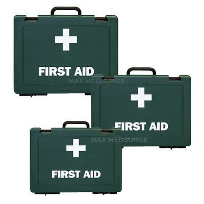 £8.99 • Buy Ezy-Aid EMPTY First Aid Box - Various Sizes - Wall Bracket Option,  HIGH QUALITY