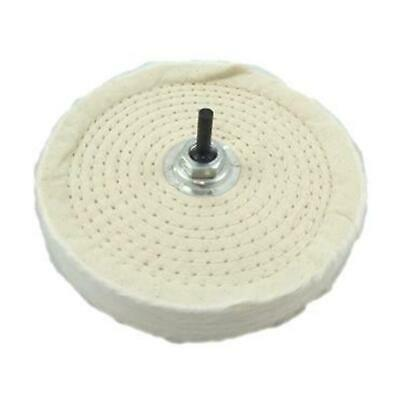 £8.26 • Buy Polishing Buffing 6  150mm Mop Wheel For Drill Bench Grinder 80 Layer Cotton