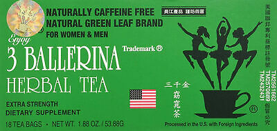 AU11.05 • Buy Diet Herbal Tea Extra Strength Weight Loss Constipation 18 Bags 3 Ballerina