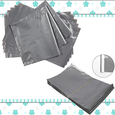 Grey Postage Strong Mailing Post Postal Plastic Poly Bags Self Seal All Sizes • 2.45£