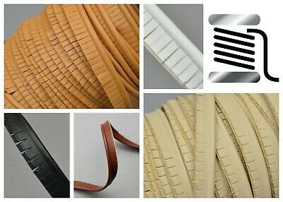 3mm Faux Leather Piping Embossed Welt Welting Cord Cushion Bag Upholstery Car  • 3.65£