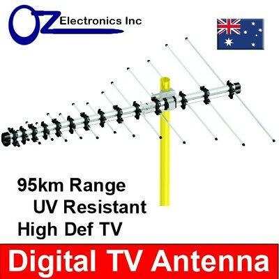AU39 • Buy Greentek Outdoor TV Antenna UHF VHF FM 4 AUSTRALIAN Conditions Country Areas NEW