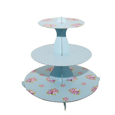 £9.50 • Buy Mason Cash Floral 3 Tier Cupcake Stand