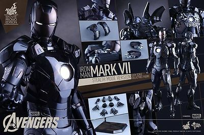 $ CDN628.85 • Buy Hot Toys Iron Man Mark VII Stealth Mode Movie Promo Exclusive 1/6th Scale Figure