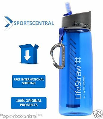 AU64 • Buy LIFESTRAW GO PERSONAL PORTABLE WATER FILTER BOTTLE PURIFIER Vestergaard New