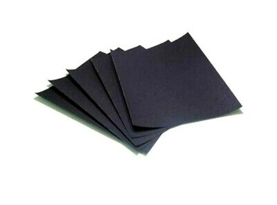 £3.23 • Buy Wet & Dry Emery Paper Sheets. 120, 180, 240, 300, 400, 600, 1200 & 2000 Grit..