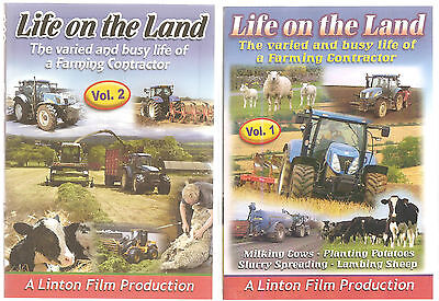 £24.99 • Buy Life On The Land Volume 1 & 2 Dvd's - Farming Animals Countryside Tractors New