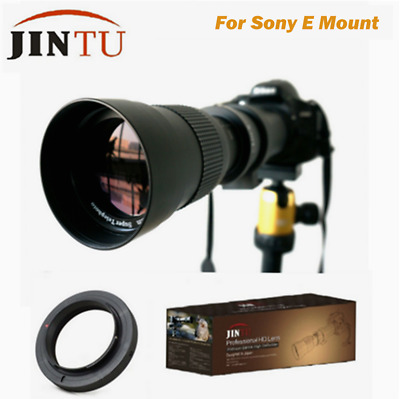 $ CDN126.72 • Buy JINTU 420-800mm F/8.3-16 Telephoto Zoom Lens For Sony A7R A7S A7 II A6300 A6500