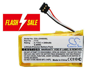 AU16.46 • Buy 1110 Replacement Battery For Logitech H600
