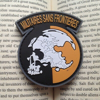 AU10.63 • Buy Metal Gear Solid Mgs Peace Walker Militaires Sans Frontieres Patch Badge