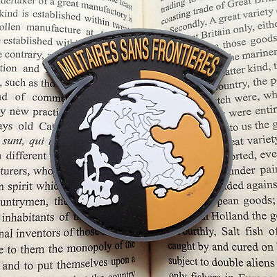 AU4.55 • Buy New METAL GEAR SOLID MGS PEACE WALKER MILITAIRES SANS FRONTIERES PATCH