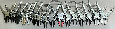Range Of 19 Heavy Duty Parallel Action Pliers Jewelry Making Crafts Single/ Set • 17.24£