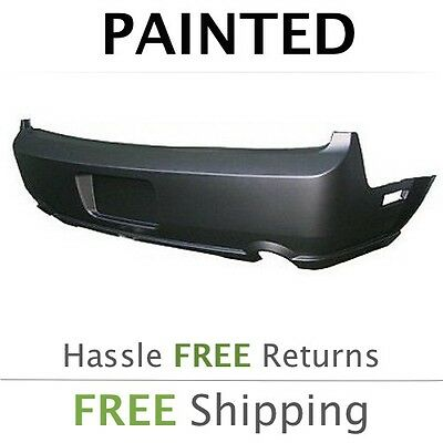 $459 • Buy NEW Fits: 2005 2006 2007 2008 2009 Ford Mustang GT Rear Bumper Painted FO1100388