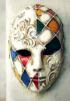 £29.99 • Buy Stunning Canvas Venetian Carnival Mask #3 Romantic Wall Hanging Picture Art A1