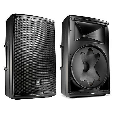 $998 • Buy JBL EON615 1000-Watt 15-inch 2-Way Powered Speaker Pair With Bluetooth Control