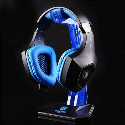 AU19.95 • Buy New Universal Gaming DJ Gamer Headphone Headset Hanger Bracket Holder Rack Stand