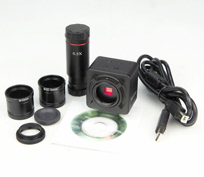 $71.96 • Buy 5.0 MP HD USB Microscope Digital Electronic Eyepiece Camera With C Mount Adapter