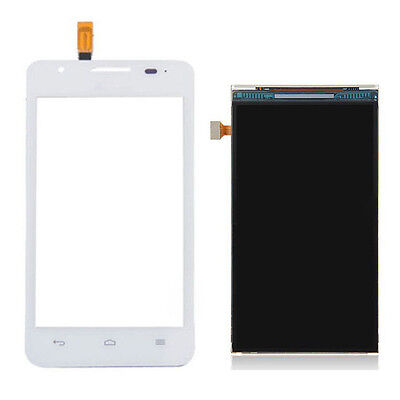 AU27.19 • Buy White Touch Digitizer Screen +LCD Display For Huawei Ascend G510 U8951 T8951