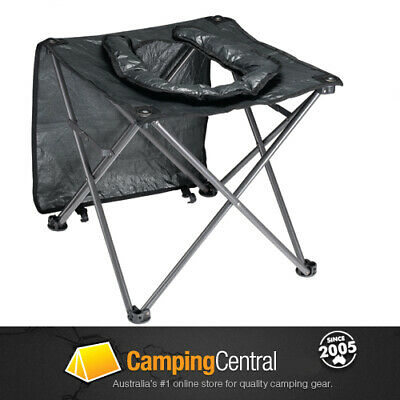 AU32.95 • Buy Oztrail Portable Camping Outdoor Toilet Chair Seat Stool Porta Loo Poti