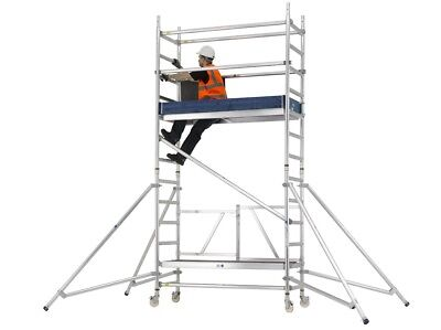 Reachmaster Aluminium Scaffold Tower 2.6 To 8.5m Work Heights Zarges Industrial • 358£