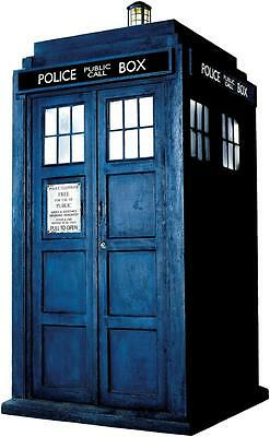 £19.32 • Buy Dr WHO TARDIS Phone Booth Decal WALL STICKER Home Decor Art Police Call Doctor