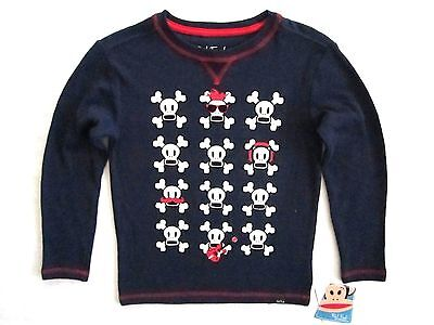 £7.07 • Buy Paul Frank Toddler Little Boys Long Sleeve Navy Blue Graphic Thermal Top