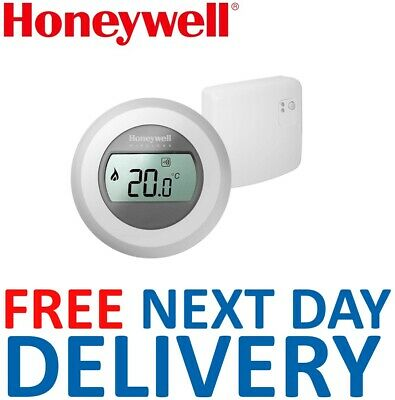 Honeywell Single Zone RF Wireless Room Thermostat Y87RF Y87RF2024 Genuine *NEW* • 140£