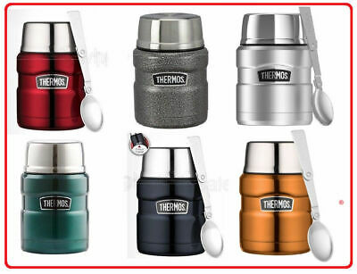 AU33.90 • Buy ❤ Thermos STAINLESS STEEL Vacuum Insulated Food Jar Container 470ml With Spoon