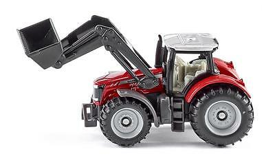 AU16.45 • Buy NEW Siku Massey Ferguson Tractor With Front Loader Die Cast Toy Car 1484