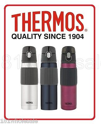 AU27.75 • Buy ❤ Thermos STAINLESS STEEL VACUUM INSULATED HYDRATION BOTTLE 18oz 530ML ❤