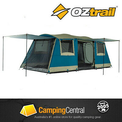 AU299 • Buy OZTRAIL BUNGALOW (SLEEPS 9) Dome Family 9 Person Man Tent