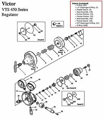 Oxygen Regulator Repair Kit Oxygen Regulator Exploded Diagram 33